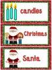 December Word Cards