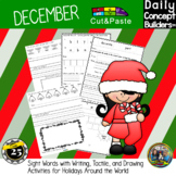 Christmas Around the World Cut and Paste Activities