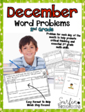 December Word Problems For Second Grade Common Core Aligned