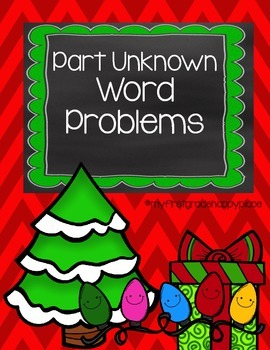 December Word Problems that encourage MATH TALK!