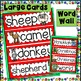 Word Wall and Tracing: December (Christmas Winter Seasons Writing Center)