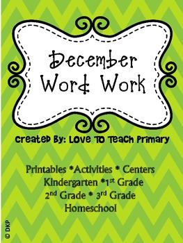 December Spelling
