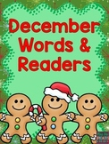 December Words and Emergent Readers (Reading Center Activities)