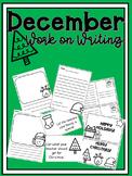 December Work on Writing