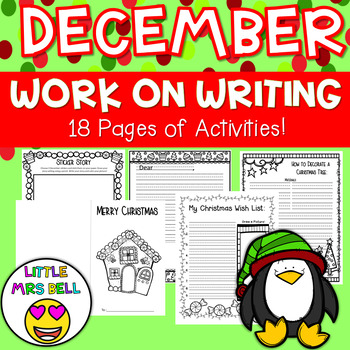 December Work on Writing Pack
