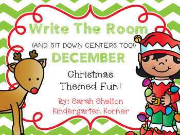 December Write The Room (And Sit Down Centers Too)