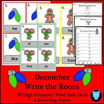 December - Write the Room