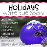 Holidays Around the World Write the Room