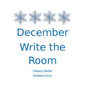 December Write the Room