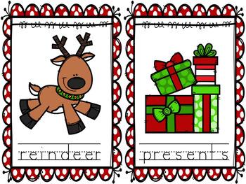 December Write the Room Activities