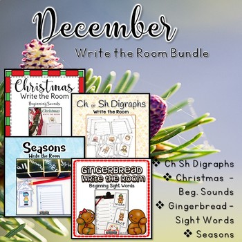 December Write the Room Bundle