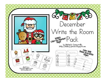 December Write the Room Pack (Christmas themed)