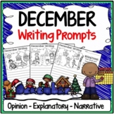 December Writing Prompts {Narrative Writing, Informative & Opinion Writing}