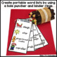 December Writing Activity: Bulletin Board Vocabulary Words & Word Rings