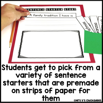 December Writing Activity: Interactive Sentence Starters
