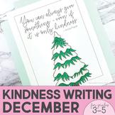 Kindness Activities | Kindness Poster | December | Winter Holiday Activities