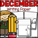 December Writing Activity: Thematic Writing Paper