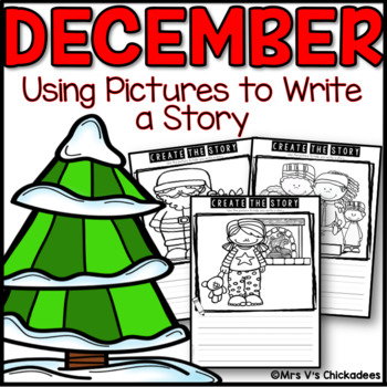 December Writing Activity: Using Pictures to Write a Story