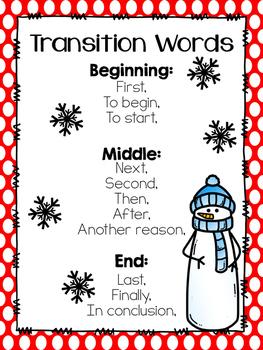 December Writing Bundle- Common Core Aligned