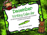 Writing Calendar:  20 Prompts for the Month of December