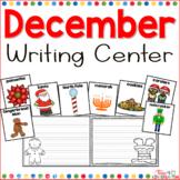 December Writing Center for Kindergarten and first Grade