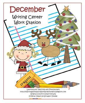 December Writing Center Work Station