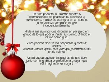 December Writing Centers in Spanish - Escritura para centros