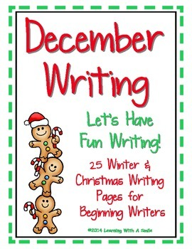 Christmas and Winter Writing for December with Word Banks