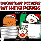 December Writing & Craft Pages