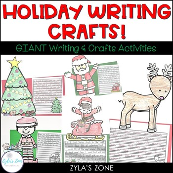 December Writing Crafts - THE BUNDLE