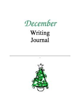 Writing Journal, December
