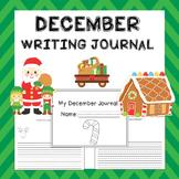 December Writing Activities / December Writing Journal