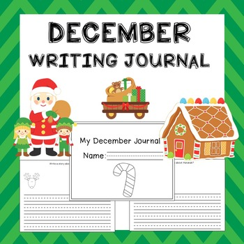 December Writing Activities / December Writing Journal