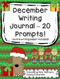 December Writing Journal - 20 Prompts!