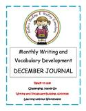 My December Writing Journal