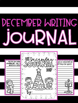 December Writing Journal (with prompts!)