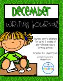 December Writing Journals