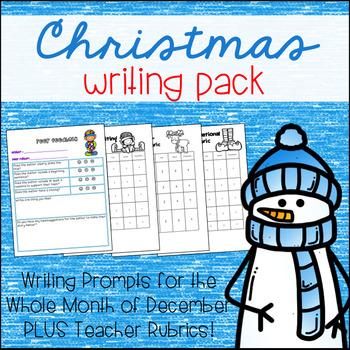 Holiday Writing Unit