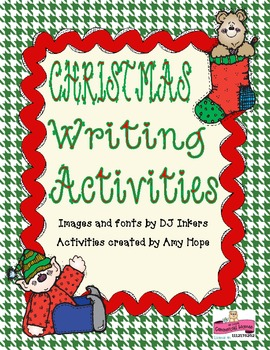 December Writing Packet Freebie