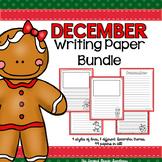 December Writing Paper Bundle