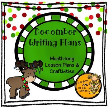 December Writing Plans - Full Month