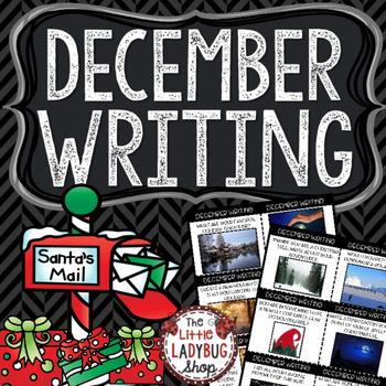 December Writing Prompts - 2nd Grade, 3rd Grade & 4th Grade