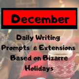 December Writing Prompts 62 prompts, 31 photos, 31 extensions