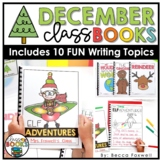 December Writing Prompts & Class Book Covers