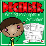 December Writing Prompts and Activities