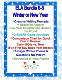 Writing for New Year and Winter 5-9: Prompts, Year in Review, Goals & MORE
