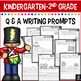 December Writing Prompts for Kindergarten to Second Grade