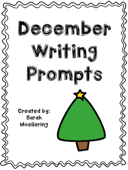 December Writing Prompts (includes holiday and non-holiday options!)