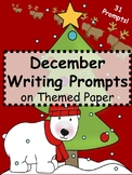 December Writing Prompts - December Themed Writing Prompts Journal (Gr. 3-5)