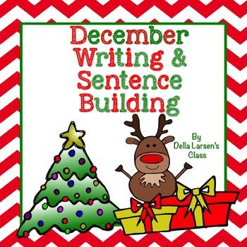 December Writing & Sentence Building